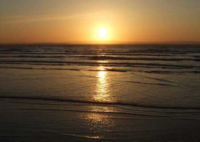Stuart Bailey Media_Enniscrone Beach sunset