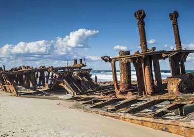 Stuart Bailey Media_Shipwreck on Fraser Island