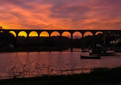 Stuart Bailey Media_Calstock Sunset