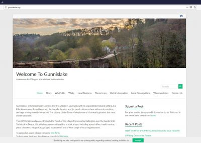 Stuart Bailey Media_Gunnislake Village Website