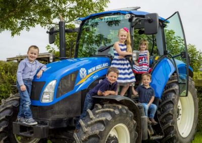 Stuart Bailey Media_Kids on Tractor
