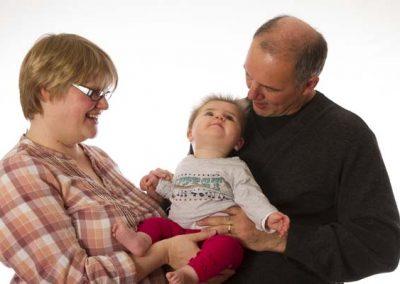 Stuart Bailey Media_Baby looking at Dad