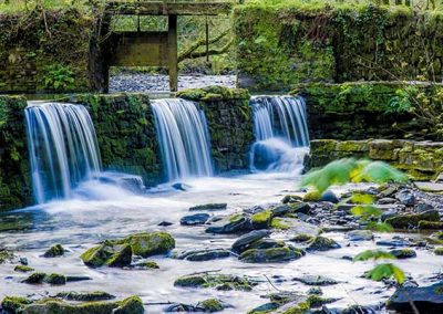 Stuart Bailey Media_Weir above Cotehele Mill