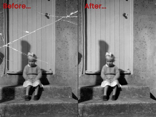 Stuart Bailey Media Photo Restoration