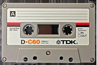 Stuart Bailey Media Cassette Tape